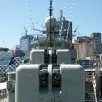 A & B turrets