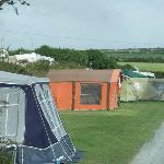 I had to include this, our first trailer tent, never had problems finding it