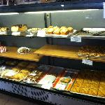 A wide selection of freshly baked delicacies.
