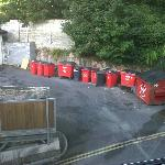 Dustbin view from our room????