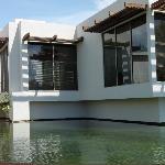Our villa from laguna
