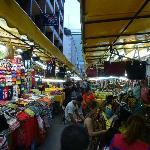 Dozens of stalls.