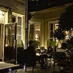 Le soir en terrasse