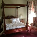 we paid more for this room with a four poster bed