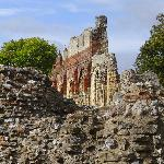 This is St. Augustine's Abby in Canterbury. Beautiful ruins.