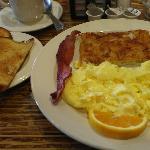 Breakfast from restaurant
