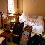 Our Japanese twin room