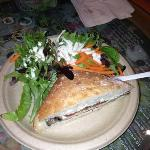 great eggplant sandwich