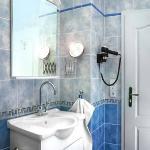 Bathroom in Apartments Barbora