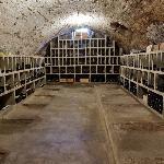 Unser Weingewölbe aus dem 14 Jahrhundert