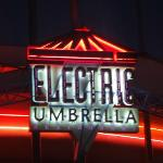 The sign for Electric Umbrella