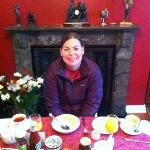 Breakfast at Woodland's B & B (Best traditional breakfast in Ireland!!)