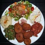Vegeterian Falafel Plate
