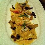 Appetizer of Lobster filled Ravioli at Twenty Eight Atlantic