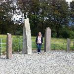Ogham stones...near Woodland's B & B