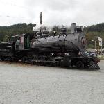 2-8-0 logging locomotive