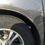 $1250 damage from valet that hotel would not correct.