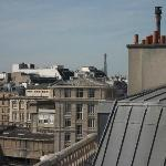 View of Eiffel Tower from Room 715