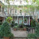 Central courtyard - Place d'Armes