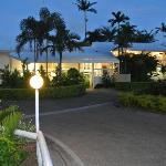 Our Motel entrance