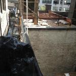 View from bedroom window, ultra deluxe suite