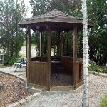 Private gazebo, my wife loved it!