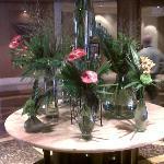 Hotel Lobby centerpiece