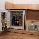 Minibar and a safe in each room
