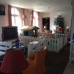 kids area at reception