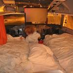 La suite en la cabina del piloto