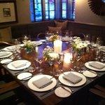 special VIP dinner