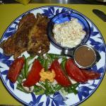 softshells, salad & slaw