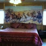 Robbers' Roost with Cowboy wall decor!