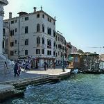 View from pier on Grand Canal