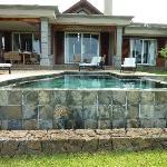 Garden Pool area at Villa