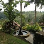 Blick auf die Villas