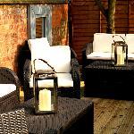 Comfortable garden seating