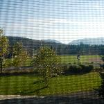 Beautiful view of the mountains from room 6