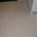 Dirty Bath floor