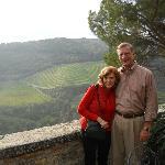 Allen and Sandy at Castello Vicchiomaggio