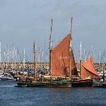 Old-style Brixham Trawlers from Pepper Shack