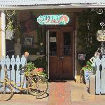 The inviting front door