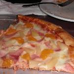 """Flying Hawaiian Pizza""  (Delicious!!)"