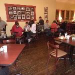 Inside dining area!
