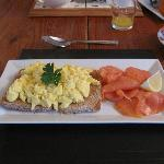 Yellingham Farmhouse Smoked Salmon and Scrambled Eggs