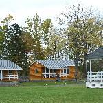 cabins and gazebo
