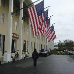 Congress Hall front of hotel