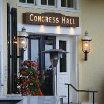 Congress Hall - back entrance