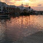 Kyrenia Harbour at Sunset