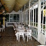 salle à manger véranda